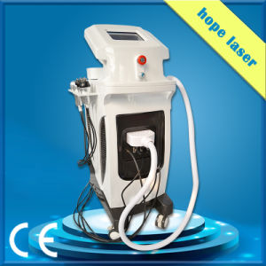 Gold Color IPL Elight Cavitation RF Vacuum Multifunction Beauty Machine pictures & photos