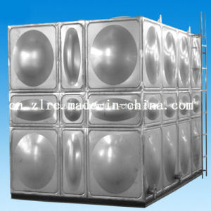 SUS 304 Food Grade Stainless Steel Water Tank Tank Container pictures & photos
