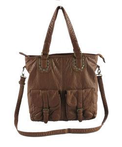 Washed Women Shoulder Bag (E23030)
