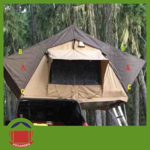 Aluminum Frame Wind Resistant Roof Top Tent pictures & photos