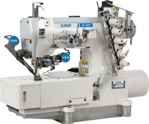 Zuker Pegasus Computer Direct-Drive Flat-Bed Interlock Sewing Machine with Auto-Trimmer (ZK 500-01DA-UT)