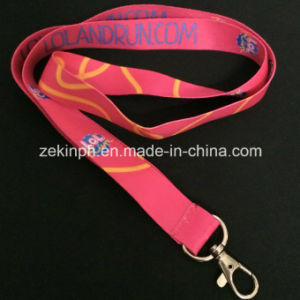 Promotional Heat Transfer Printed Logo Lanyard pictures & photos