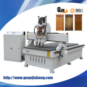 1325 Three Workstage/ Three Process/Three Tools/Spindles Atc CNC Router Center/ Spindles Atc CNC Router pictures & photos