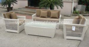 Garden Rattan Wicker Patio Sofa Set Outdoor Furniture pictures & photos