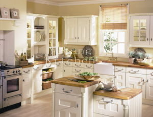 Solid Wood Kitchen Cabinet Home Furniture #260 pictures & photos