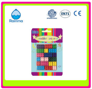 Block Crayon with Cube Shaped pictures & photos
