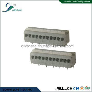PCB Spring Terminal Block Connector 5A with Grey Housing pictures & photos