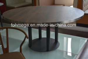 Wholesale Customized Big Round Table for Dining (FOH-NCT3) pictures & photos