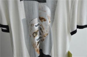 Fashion Cotton Viscose Short Sleeve Men Sweater pictures & photos