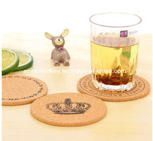 New Cute Cork Wooden Coffee / Cup Coaster pictures & photos