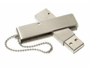 Promotion Gift OEM Logo Printing Swivel/Twist Metal USB Memory pictures & photos
