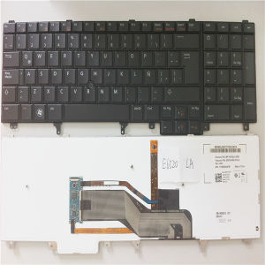 Us Ti Kr Laptop Keyboard for DELL Latitude E6520 E6530 E5520 E6540 Backlit pictures & photos