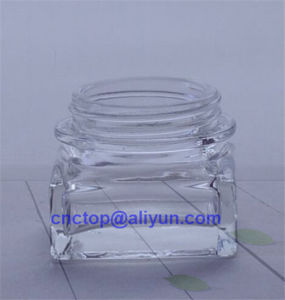 Square Round Glass Bottle for Facial Cream pictures & photos