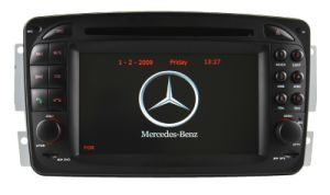 Auto DVD Player GPS Navigation for Mercedes-Benz Clk-W209 Radio Hualingan pictures & photos