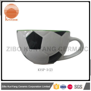 Football Soup Mug for Hot Sell pictures & photos