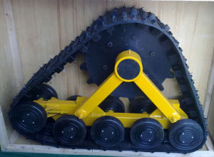 Triangular Rubber Track System Snow Area pictures & photos