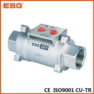 Pneumatic Control Axial Valve with Bsp Thread pictures & photos