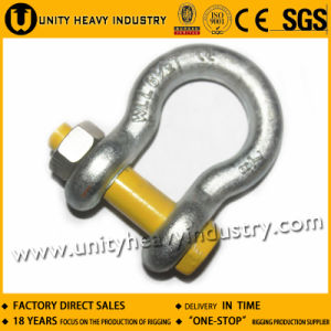 U. S Type G 2130 Bolt Safety Drop Forged Anchor Shackle pictures & photos
