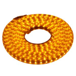 SMD5050 220V LED Flexible Strip with Waterproof (orange)