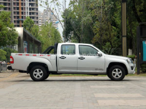 4X4 Petrol /Gasoline Double Cabin Pick up (Long Cargo Box, Luxury) pictures & photos