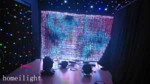 Good News! New LED Vision Display LED Vision Curtain with Good Quality on Sale pictures & photos