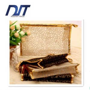Travel Portable Large Transparent Mesh Waterproof Cosmetic Bag pictures & photos