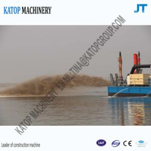 18′′ Hydraulic Cutter Suction Dredger with 18 Inch Sand Pump pictures & photos