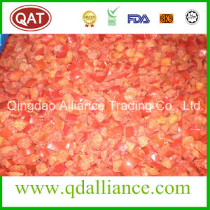IQF Frozen Green Red Yellow Pepper Dices with Brc Certificate pictures & photos