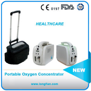 Portable Medical Oxygen Concentrator with Battery /Oxygen Generator Jay-1/ Medical Gas pictures & photos