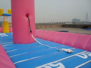 Basketball Sport Game Inflatable Bungee Run pictures & photos