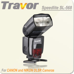 Speedlite Flash SL568 for Canon and Nikon DSLR Cameras