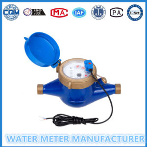 Pulse Transmitting Pulse Output Water Meter in 1/10/100 Liter/Pulse pictures & photos