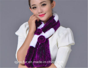 2015 New Fashion Rex Rabbit Scarf Factory Wholesale pictures & photos