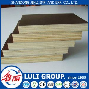 Poplar Core 12mm 15mm 18mm Brown Black Film Faced Plywood Price pictures & photos