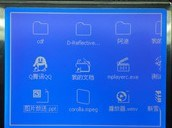 Stn Display 320X240 Graphic LCD Display with Blue Backlight pictures & photos