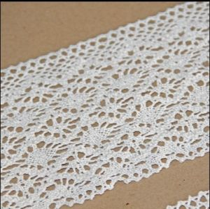 High Quality Embroidery Fabric Handcut Cotton Lace