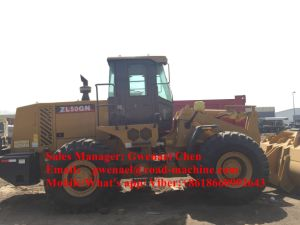 Zl50gn 5 Ton Wheel Loader with Clamp, A/C, Pilot Control pictures & photos