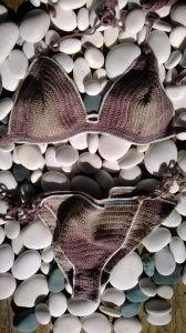 Women′s Crochet Bikini Set by Handmade in 100% Cotton