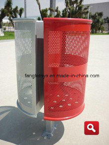Outdoor Ashbin Trash Bin Park Garbage Can FT-Ptb031 pictures & photos