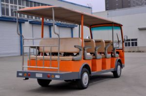 Mini Bus 14 Seater Electric Sightseeing Car Made by Dongfeng for Tourist