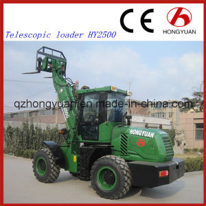 Hot Sale Construction Machinery Hy2500 Telescopic Loader pictures & photos