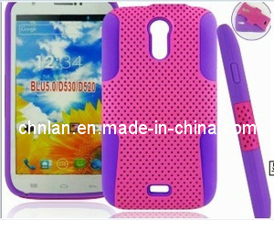 Newest PC with Silicon Hybrid Mesh Combo Case for Blu Studio 5.0