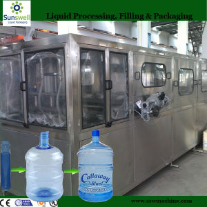 High Efficiency Automatic 5 Gallon Bucket Bottle Filling Line (Sunswell) pictures & photos