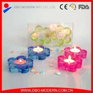 Wholesale Petals Shape Glass Votive Candle Holders pictures & photos
