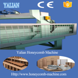 Full Automatic Paper Honey Comb Frames Cardboard Making Machine