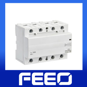 Household 4p 100A Modular Magnetic Contactor pictures & photos
