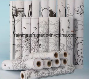 Roller Paper with OEM Design Artwork Print for Kids Drawing pictures & photos