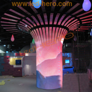 Flexible LED Video Display for Evening Stage