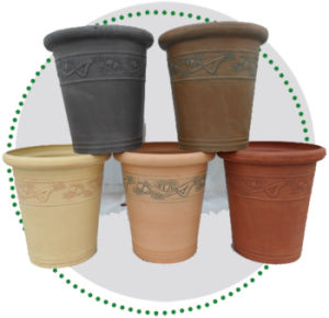 Recycled Plastic Flower Pot -10EDI40