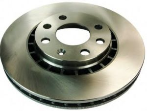Rear Brake Disc Brake Rotor for Benz Cars pictures & photos